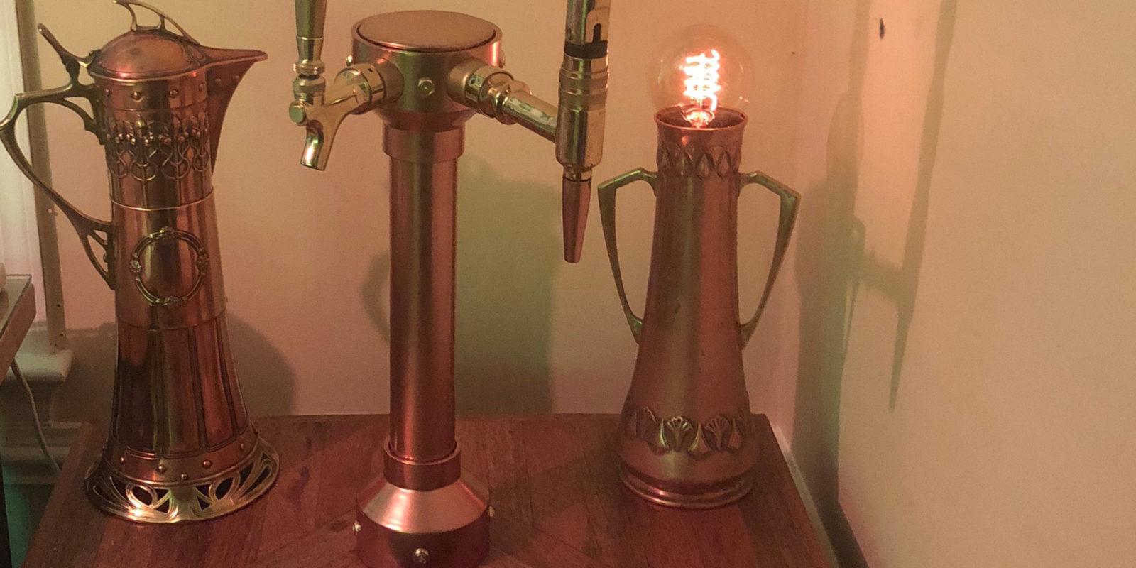 Copper Theme Custom Kegerator